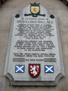William Wallace stone